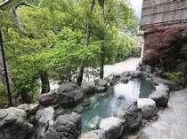 源泉の湯温は60度以上!!