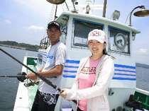 魚勘丸で船釣り体験プラン♪【カップル&グループに】