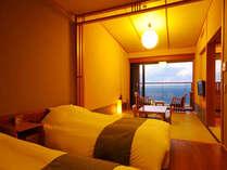 ベッドルーム・和室どこからでも海が一望♪