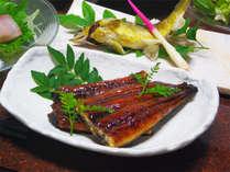 *グレードアップ・海の幸山の幸堪能コース料理一例/秘伝のたれを使用したうなぎの蒲焼き付き!