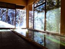 冬の大浴場(男性)