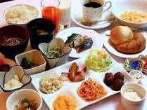 朝食バイキング(2)