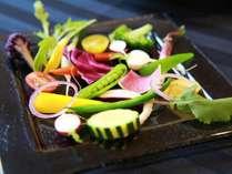 ◆空知産季節野菜のバーニャカウダ
