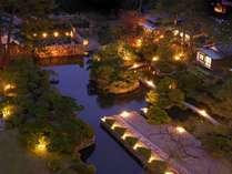 世界の彫刻家「流政之」先生の設計の本格的日本庭園。散策もできます