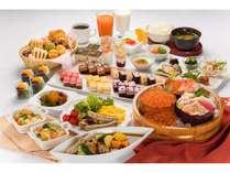北海の幸、和洋ともに充実した朝食ビュッフェ♪デザートもパワーアップ!