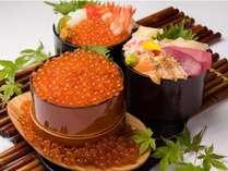 海の幸を存分にご堪能いただけます!毎日8種類を日替わりで提供。お好きなものを盛り付けるスーパー丼!