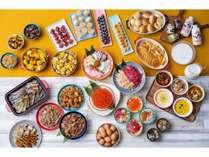 道産食材を豊富に取り揃えた和洋食ビュッフェ