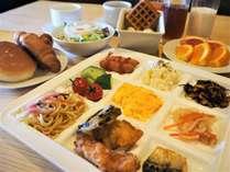 朝食ビュッフェスタイル■1Fレストラン■営業時間 6:30~10:00(OS9:30)