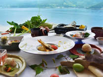 海士の食材をふんだんに使用したお料理