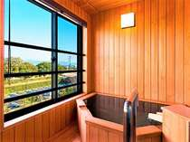 【客室の一例】展望風呂付客室(展望風呂付特別和洋室)(トイレ付)