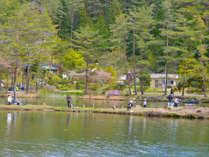 【 1泊2食 -1日釣り券付き 】釣り得プラン!しらさぎ荘に泊まって釣りを満喫しよう!