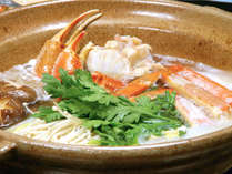 寒い季節にうれしい蟹を使ったあったかお鍋!(イメージ)