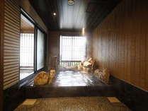 ◆男性大浴場外湯 四季を感じる外気湯
