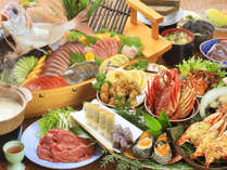 ◆大人気◆食卓を埋め尽くす皿鉢料理に舌鼓!!