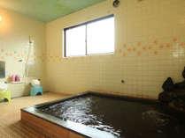 温泉◆広い湯舟でゆったり疲れを癒してください。