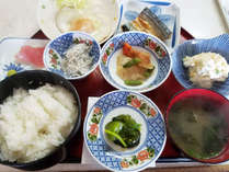 【朝食一例(和食)】和食または洋食がお選びいただけます