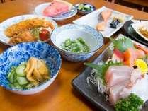 【夕食付】朝寝坊OK!夕食は女将手作り・新鮮魚介類の三陸ごはんをどうぞ