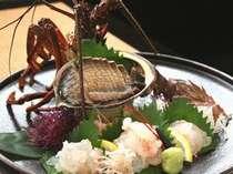 【ふっこう割クーポン利用 限定プラン】<伊勢えび&アワビに地魚お造り+特典>で2万円ポッキリ!!