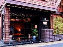 【外観】木格子の落ち着いた佇まいは、古き日本の懐かしさを感じさせます