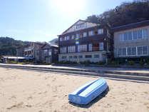 ビーチまで、ダッシュ5秒! 竹野浜に隣接する、旅館 寛(Hiro)