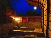 温泉につかりながら・・星空をボーっと眺めたり・・