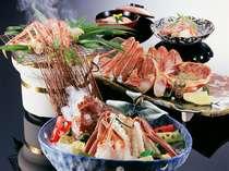 【松葉かに・冬】冬の味覚の王様 松葉蟹をフルコースで満喫!