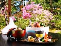 【料理イメージ・春】色鮮やかな会席を堪能!