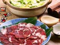 田舎ならではのジビエ料理◆花札にちなんだ、ぼたん、もみじ、さくらをご賞味ください