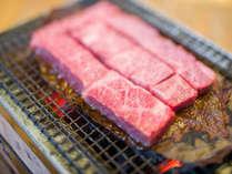 *お食事(一例)/信州牛炭火焼き