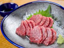 *お食事(一例)/馬刺し