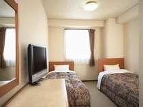 ツインルーム全室加湿空気清浄機(プラズマイオン)設置
