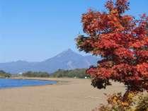 秋の志田浜