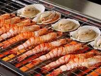 秋の料理フェアー海老・貝類※写真はイメージ