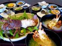 ■伊勢海老定食(一例)■〆のお味噌汁も絶品です!