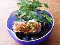 貝づくし!+1品のかき料理♪(トマトとシソ巻きカキのグリル・柑橘ソースかけ)