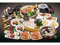 「GW特別膳」活魚黒そい・蟹・赤魚の酒蒸し、牛タン、更に活鮑刺しもお付けした超お得なGWだけのプラン