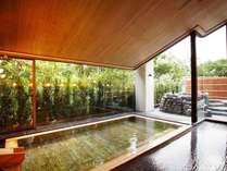 檜の香りを感じながら開放感のある大浴場で心も体もリフレッシュ♪(大浴場2階)