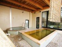 <露天風呂>ゆっくりと湯に浸かり旅のお疲れを癒してください。。