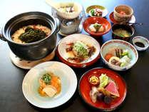 幽斎でご提供する、館主の創意工夫と地元への感謝が詰まった料理!京新感和食です。