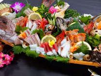 【舟盛り4人前イメージ】日本海の新鮮なお魚を堪能