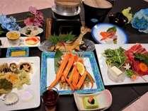 四季会席のお料理イメージ(※料理内容は季節や仕入れによって変わります)