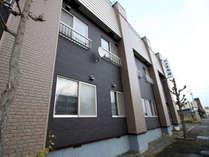 当館は北海道芦別駅から徒歩5分の立地にありビジネスにも便利です!