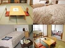 部屋のご案内和室8畳が6室和室10畳が6室洋室シングルが3室洋室ツインが3室VIPルームが1室