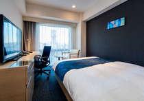 スタンダードA:広さ21平米、ベットサイズ154×203cm、40インチ液晶テレビ