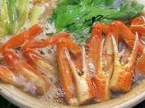 ◆鳥取砂丘イリュージョン◆幻想的な光の空間と海の恵みを満喫♪カニすきプラン