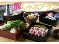 1泊2食付プラン【京都産ブランド豚のしゃぶしゃぶと朝食は精進朝食】