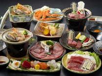 10品から選べる会席料理!個々に好きな食材が選べていいよね♪
