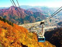 【湯沢ロープウェイ】世界最大級166人乗りロープウェイで絶景の高原へ!