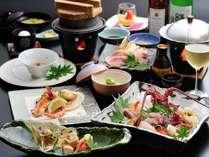 【さくらPremiumお魚セレクションディナー】魚料理がメインで新潟の美味しい食材を集めてみました
