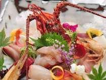 【さくらPremiumお魚セレクションディナー】魚料理がメインで季節の一番おいしい日本海の幸をどうぞ